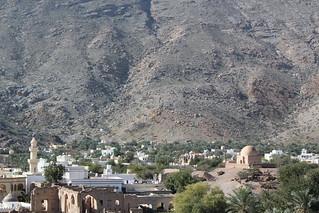 View of Al Rustaq from Al Rustaq Castle