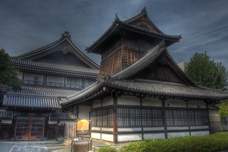 Hongan-ji Temple (West or Ryukoku) at Kyoto on OCT 30, 2015 (9)