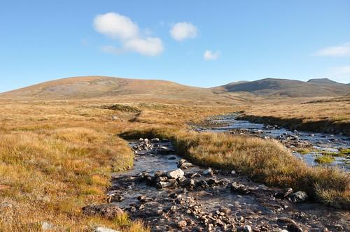 Carn na Criche, Sgor an Lochain Uaine & Cairn Toul