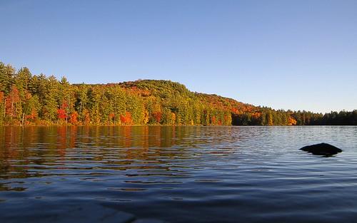 park county autumn lake hamilton foliage willis adirondack