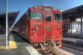 'ISABURO' at Hitoyoshi Station on OCT 23, 2015 (3)