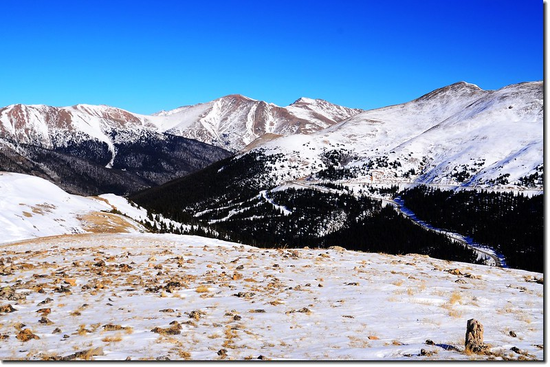 Looking northeast from the 12,479 Point at Loveland Pass West 4
