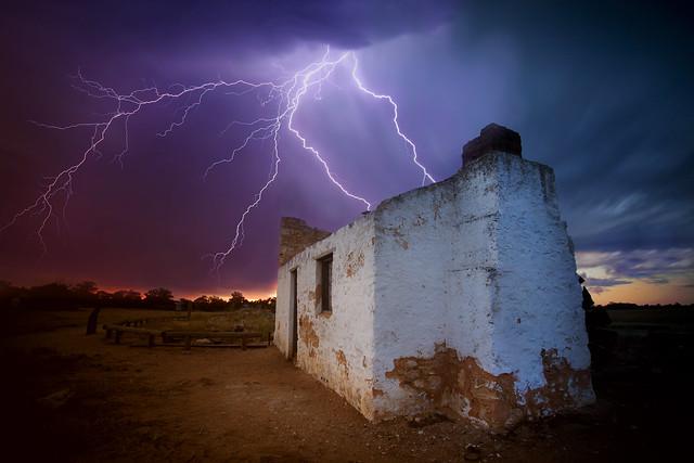 West Australian summer storms