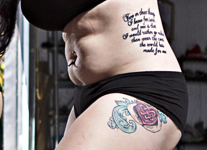 TRGP-6017 Tattoo Detail