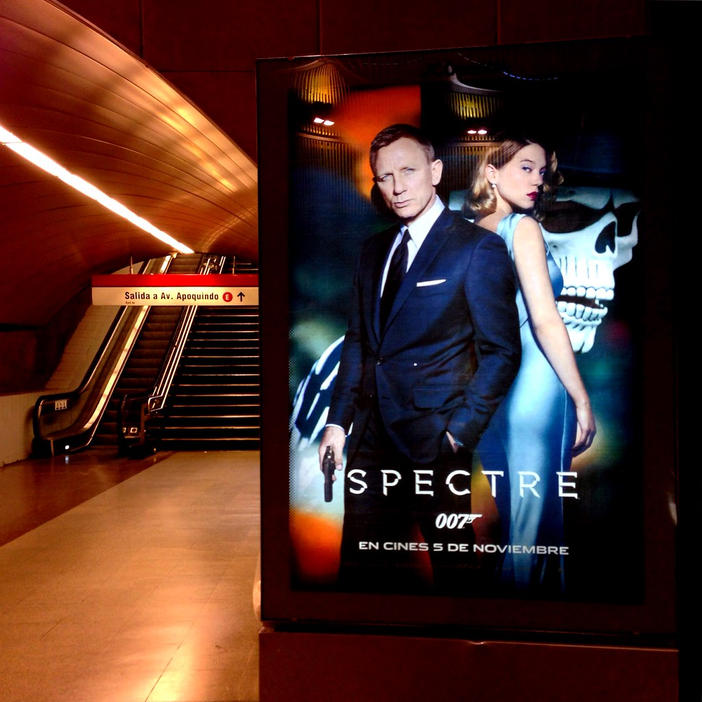 James Bond 007 Spectre - Santiago, Chile