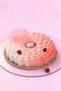 Coconut Cherry Entremet Cake