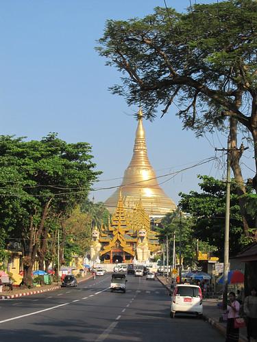 Yangon: la pagode Swhedagon