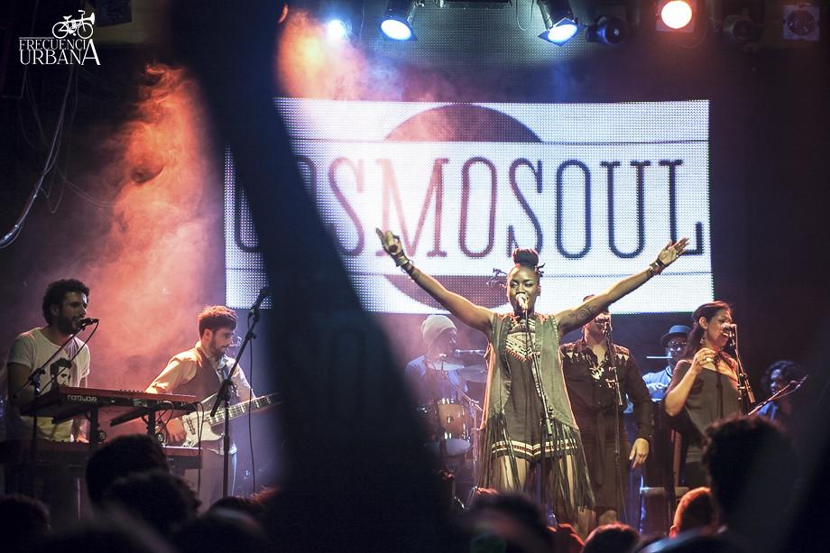 Concierto de Cosmosoul en la sala Marco Aldany. (5/11/2015)