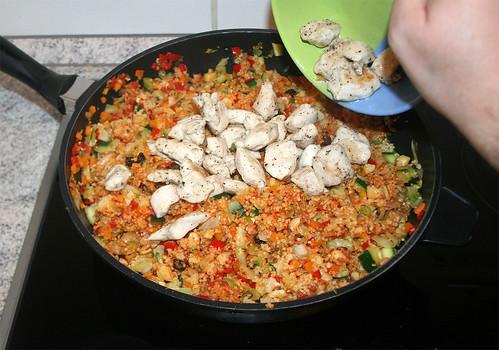 52 - Hähnchenbrust hinzufügen / Add chicken breast