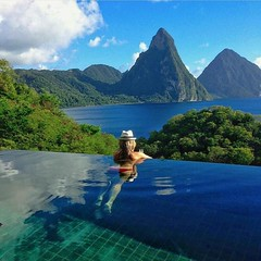 """The spectacular views from @jademountainstlucia resort. ━━━━━━━━━━━ Hashtag your best pictures/videos taken in the #carribean with #luxwt or #luxuryworldtraveler for a chance to be featured. ━━━━━━━━━━━ """"Dream Big, Eat Well & Travel On"""" ━━━━━━━━━━━ by lux"""