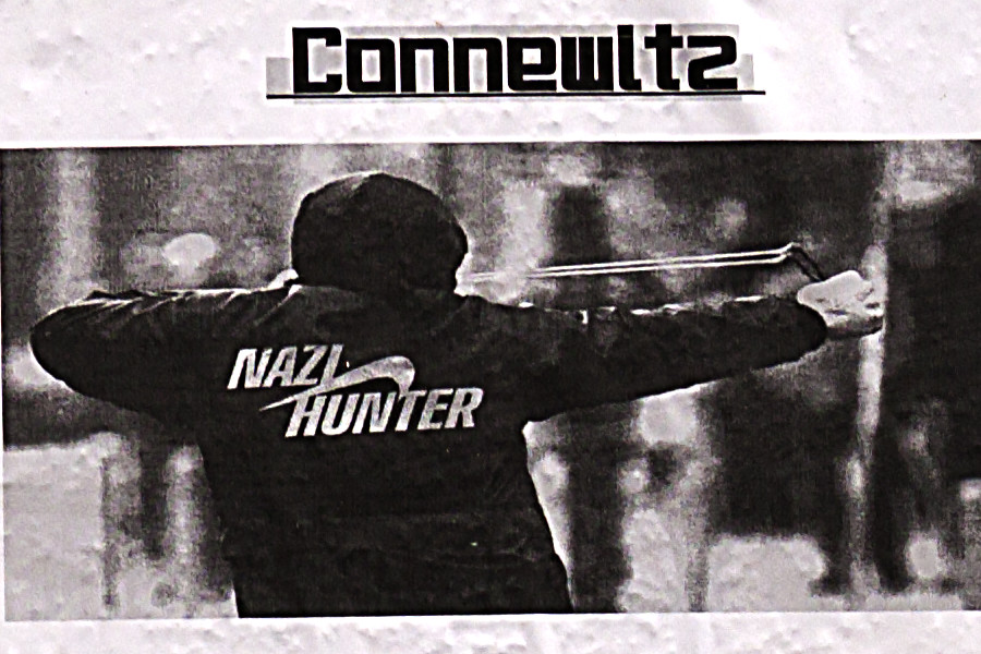 Leftist flyers depicting violence--Leipzig (detail)