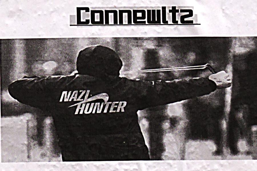 Leftist flyers depicting violence--Leipzig (detail)