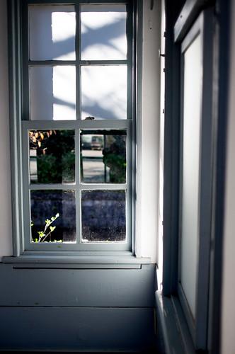 Window on Old Police Room