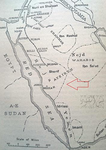خريطة من الوثائق البريطانية