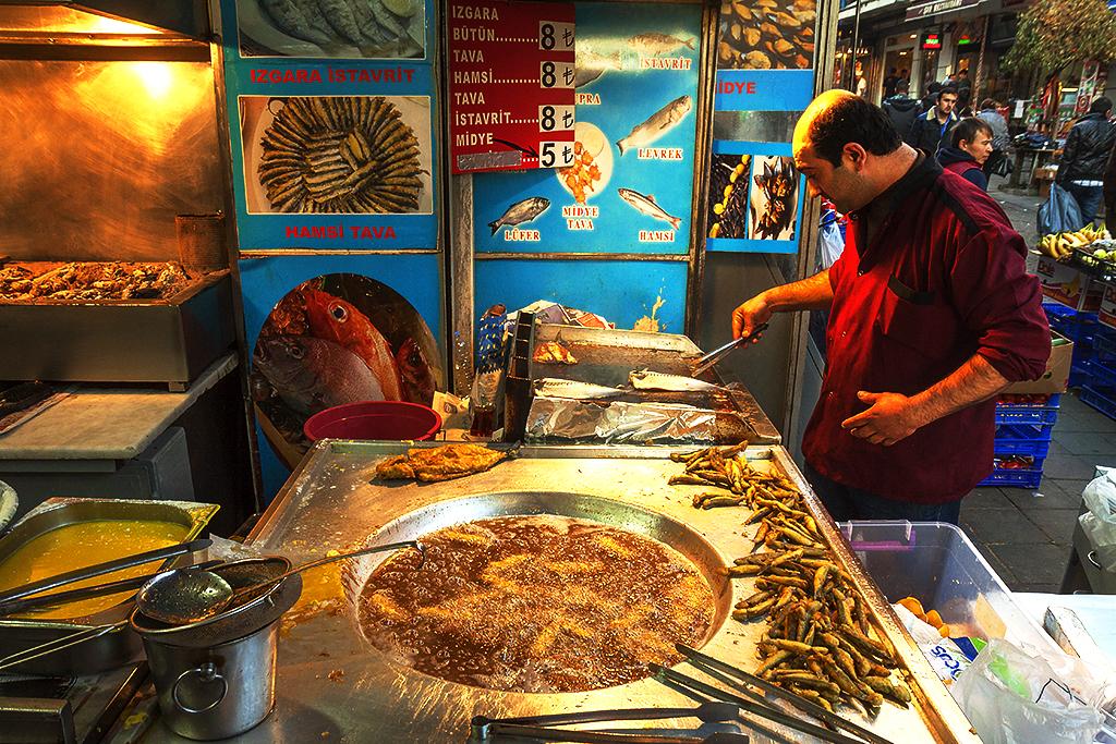 Fish restaurant on 12-19-15--Istanbul