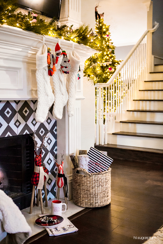 Hi Sugarplum | Pottery Barn Christmas Mantel