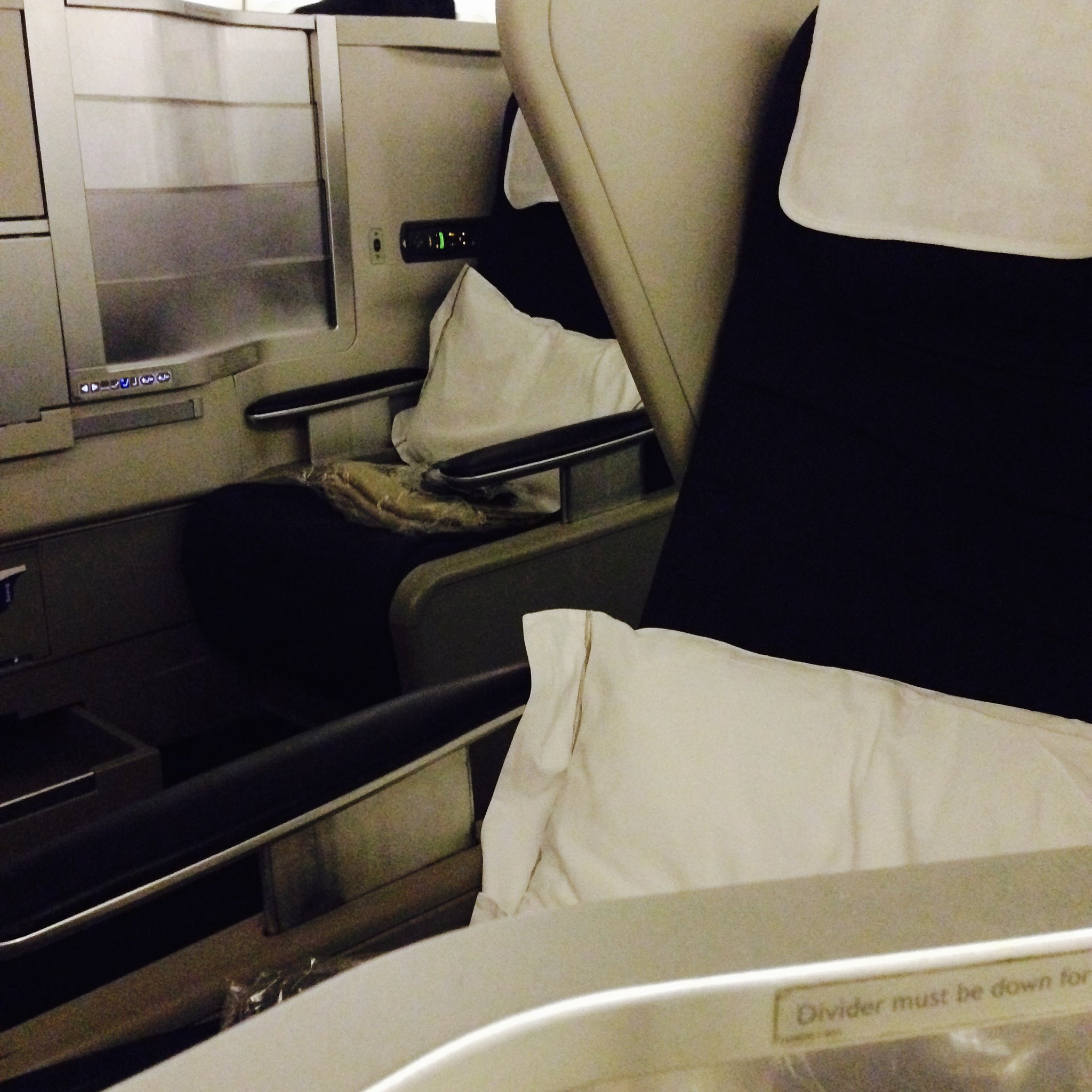BA48 Seattle - Heathrow Business Class