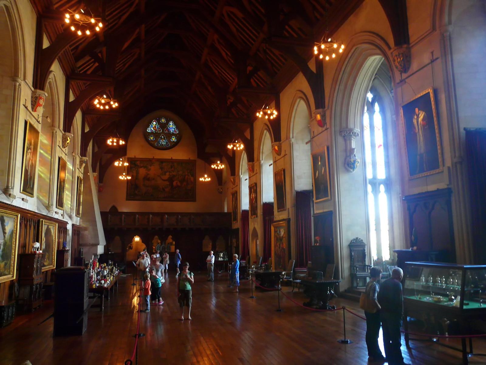 Baron's Hall, Arundel Castle. Credit Loz Pycock