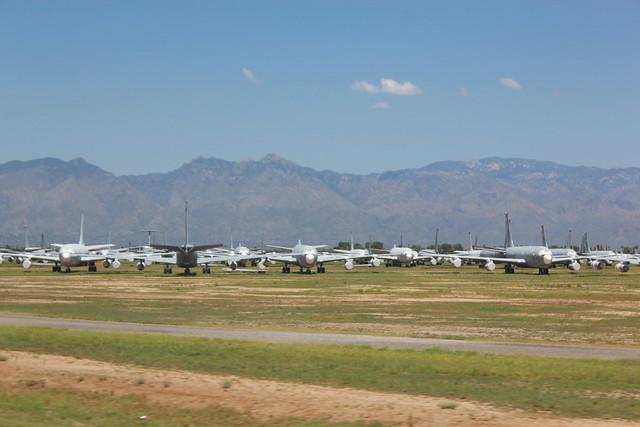 Planes at the Boneyard, Arizona