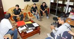 Bomberos en Acción de España brindan capacitación en Chone