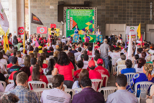 Frente Brasil Popular organiza resistência