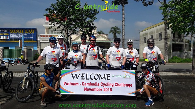 Cycle Vietnam - Cambodia,2016