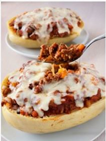 Paleo Dinner Recipes: Stuffed Spaghetti Squash (Paleo, Primal)