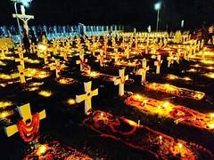 All Souls' Day #church #cemetery #allsoulsday #candles #light #dark #dhaka #christ