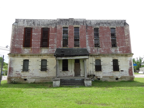 texas chfstew txbowiecounty jail nationalregisterofhistoricplaces nrhpsouth