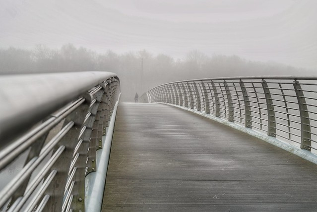 Bridge through the fog (Explored! 02-12-2016)