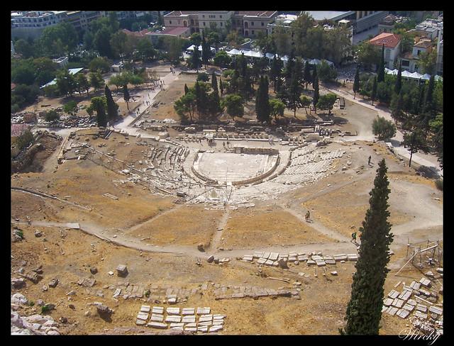Grecia visita Atenas - Teatro Dioniso