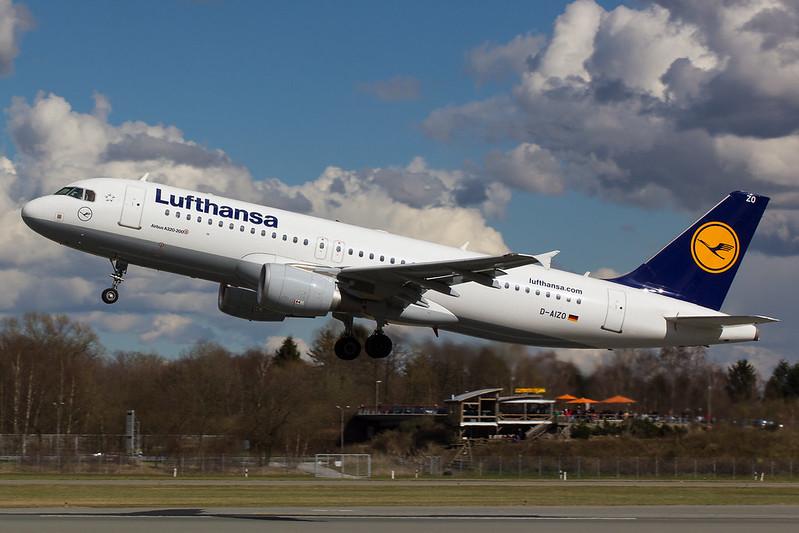 Lufthansa - A320 - D-AIZO (1)