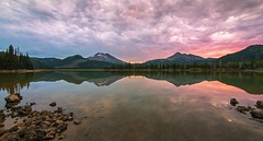 Morning at Sparks Lake