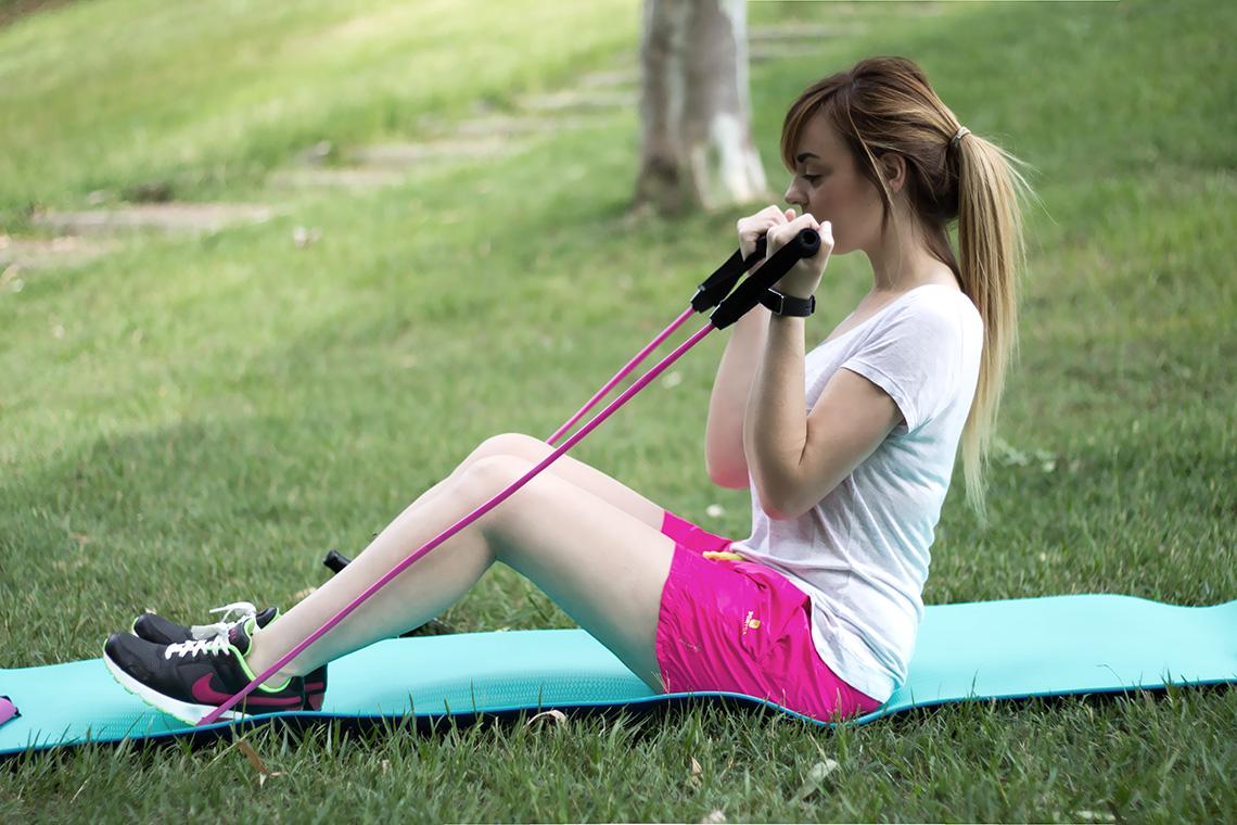 Tornare in forma dopo l 39 estate ginnastica low cost con - Strumenti palestra in casa ...