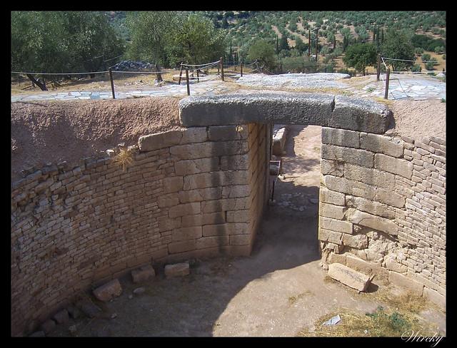 Grecia Atenas Corinto Epidauro Micenas Nauplia - Tumba del León en Micenas
