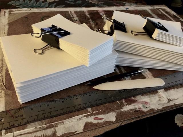 Bookbinding #bookbinding #paper #arting