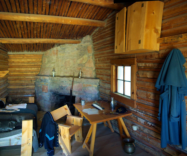 Guinard Trading Post – Living Quarters – Telegrapgh Office, Fort Caspar, Wyoming, July 11, 2010