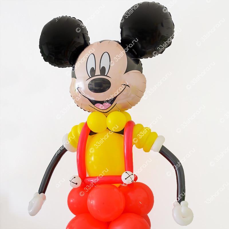 2-20 (1) Микки Маус из шаров фото