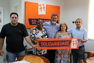 Solidariedade oficializa filiação de Dona Cida, do movimento de habitação