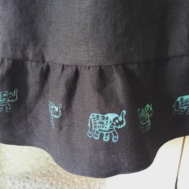 I even love the gloppy elephants #elephantsareawesome #Akita #seamwork
