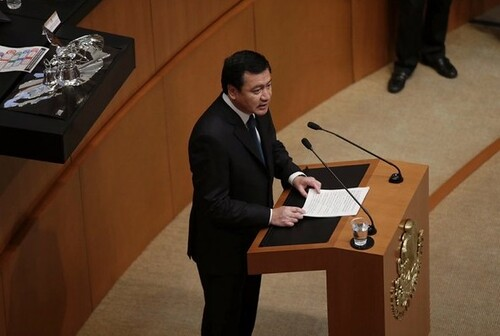 """En caso Ayotzinapa """"ni perdón ni olvido"""", asegura Osorio"""