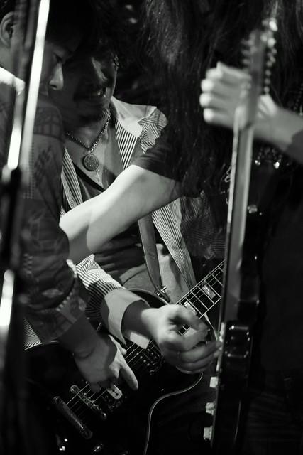 THE NICE live at Outbreak, Tokyo, 29 Sep 2015 - jam with Takayuki O.E. 528