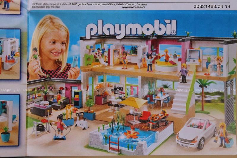 Alegna y el lobo sala de estar moderna de playmobil for Casa moderna de playmobil 123