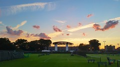 Nice Sunset At The Tennis Club