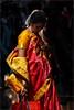 Sari.  Gokarna by Claire Pismont