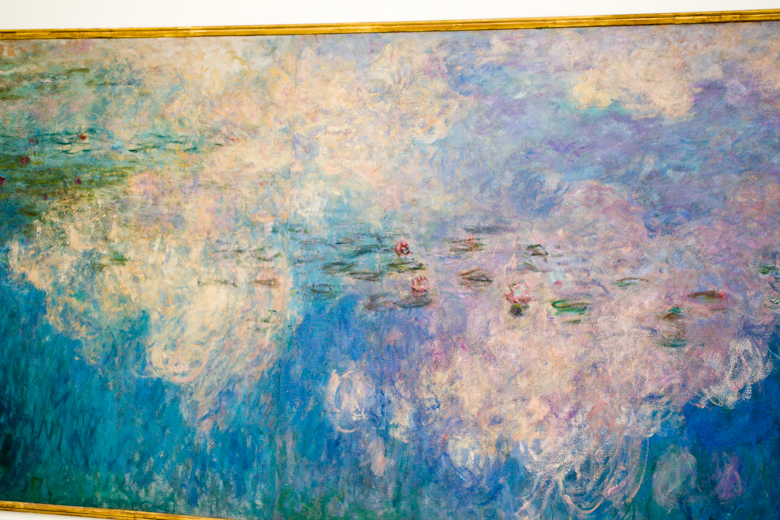 money's waterlilies at l'orangerie