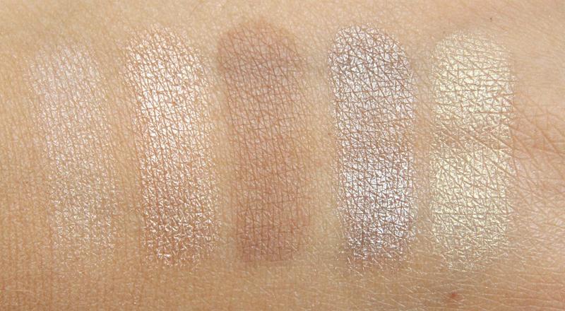 L'oréal beige la palette nude swatch1