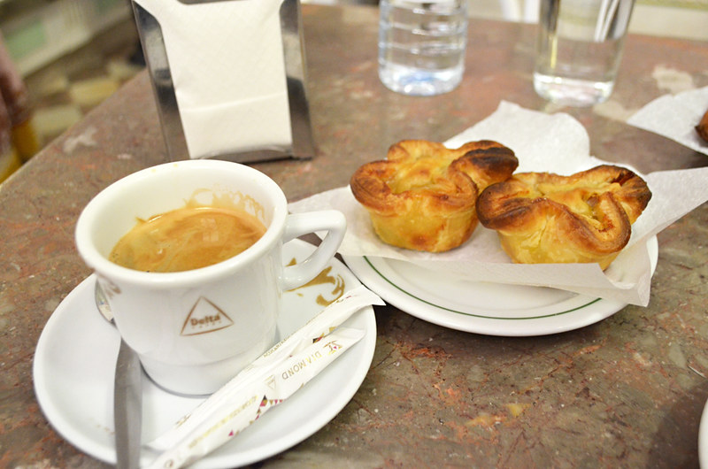 Coffee and pastries, Sintra, Portugal
