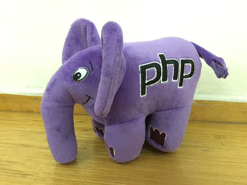 PHP ElePHPant (Purple) Plush Toy