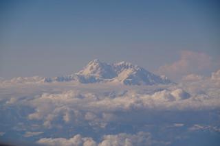 034 Mount McKinley vanuit het vliegtuig